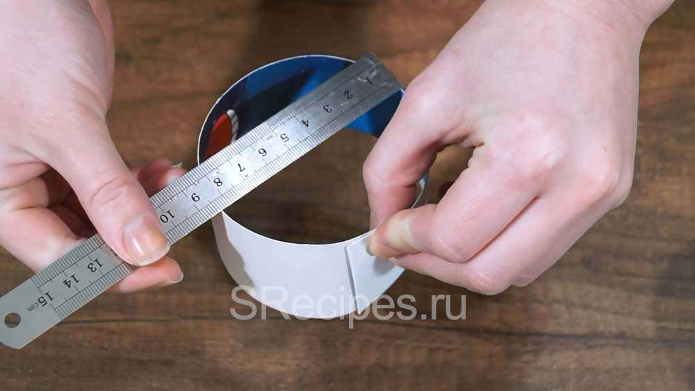 измеряем диаметр фомы