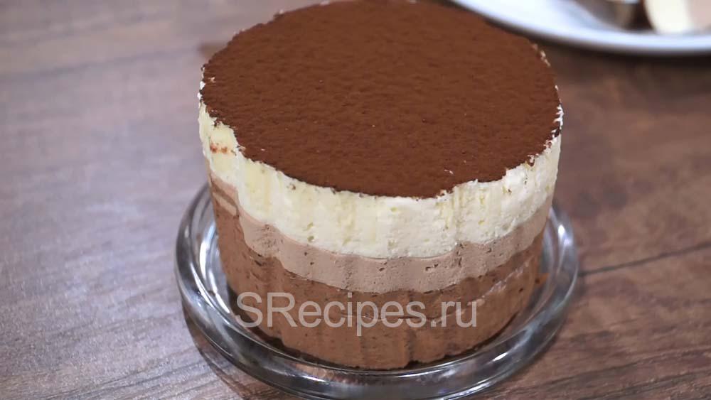 готовый мусс три шоколада