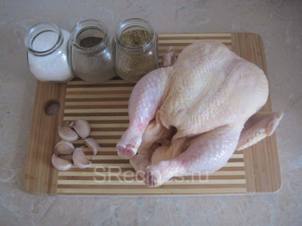 Ингредиенты для запекания курицы в рукаве